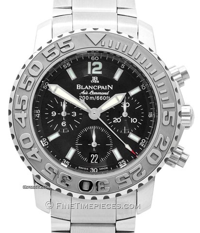 ᐈ Buy Blancpain Air Command Chronograph Flyback 2285f 1130 71 33974 2285f001130a071a New York Nyc Price 8 152 Luxwatch4you New York Nyc