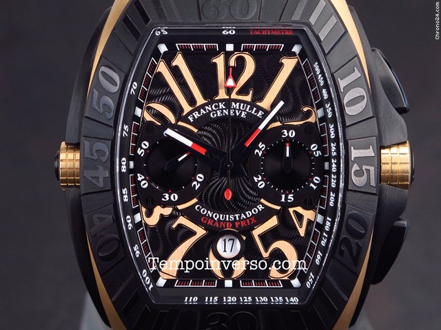 ᐈ Buy Franck Muller Conquistador grand prix rose gold full set 9900 SC DT GPG 23799 9900 SC DT GPG New York (NYC), price $11 891 | LuxWatch4You, New York (NYC)